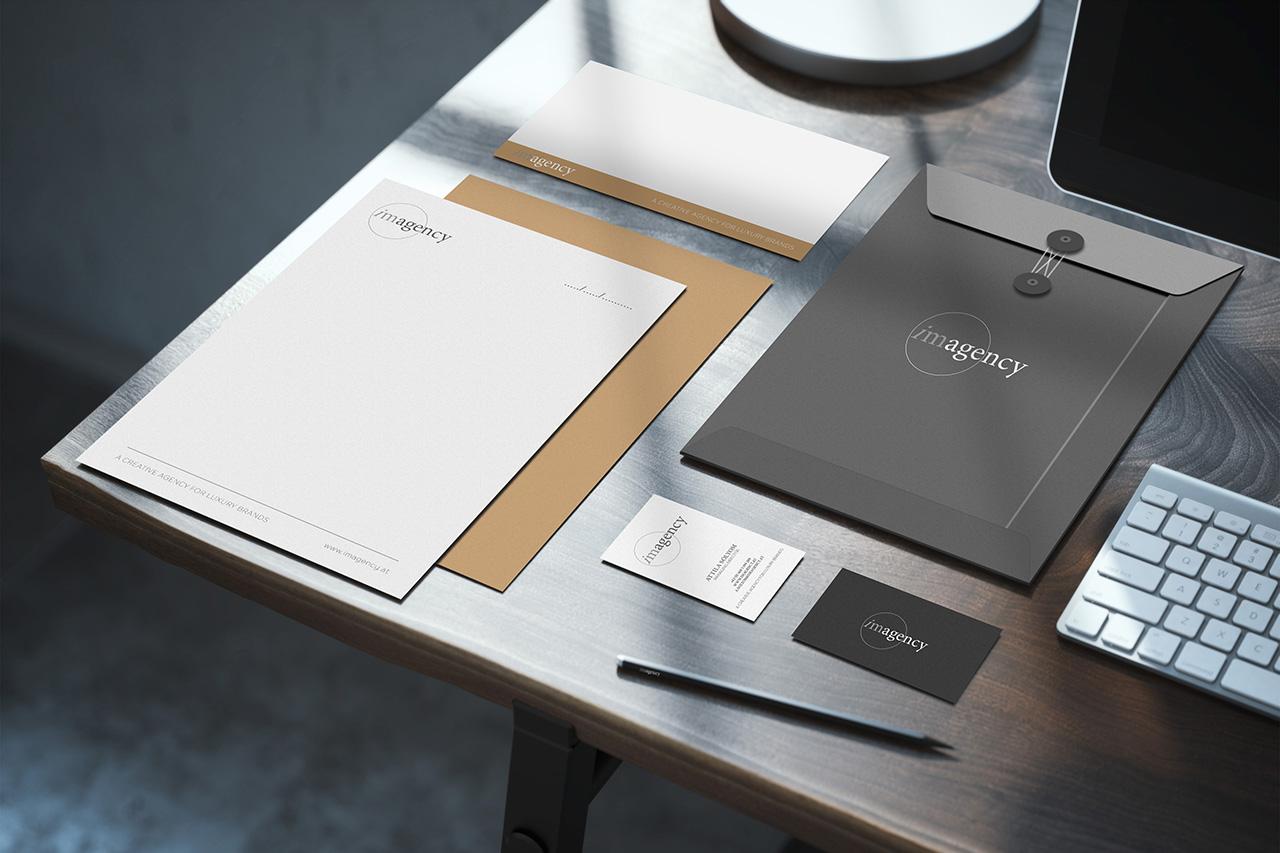 imagency Kreativagentur Luxus Agentur Tirol Corporate Identity Branding Logo Visitenkarte Briefpapier Print Online responsives Webseite Webdesin Fotografie Architektur Portrait Veranstaltung
